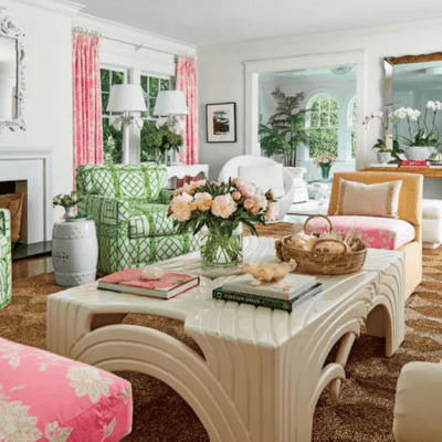 Palm Beach Decor, Lilly Pulitzer Style