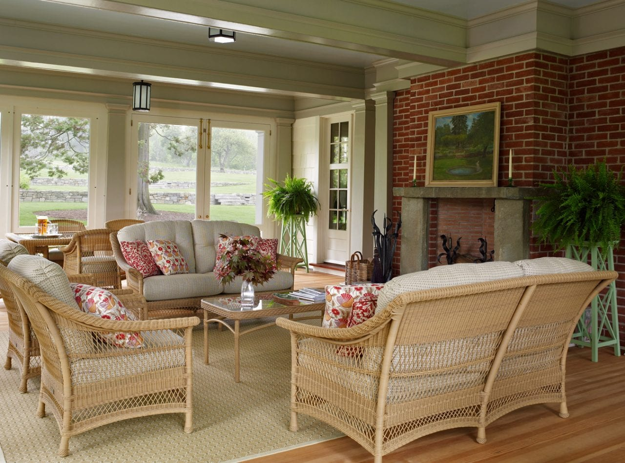 Exceptionnel Wicker Rattan Patio Enclosed Porch Furniture