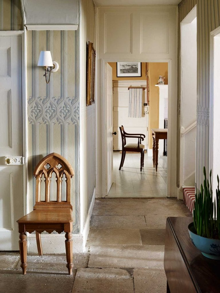The glam pad for Georgian farmhouse interiors