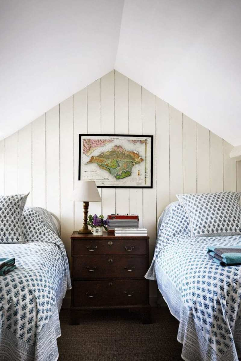 Attic Bedroom Decorating Ideas: Ben Pentreath's English Country Home