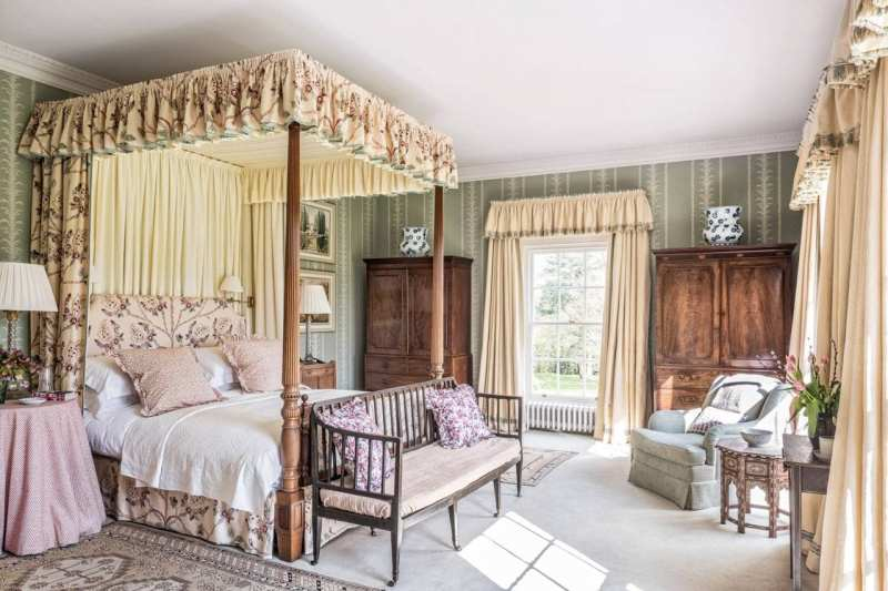 An Old Fashioned English Country House