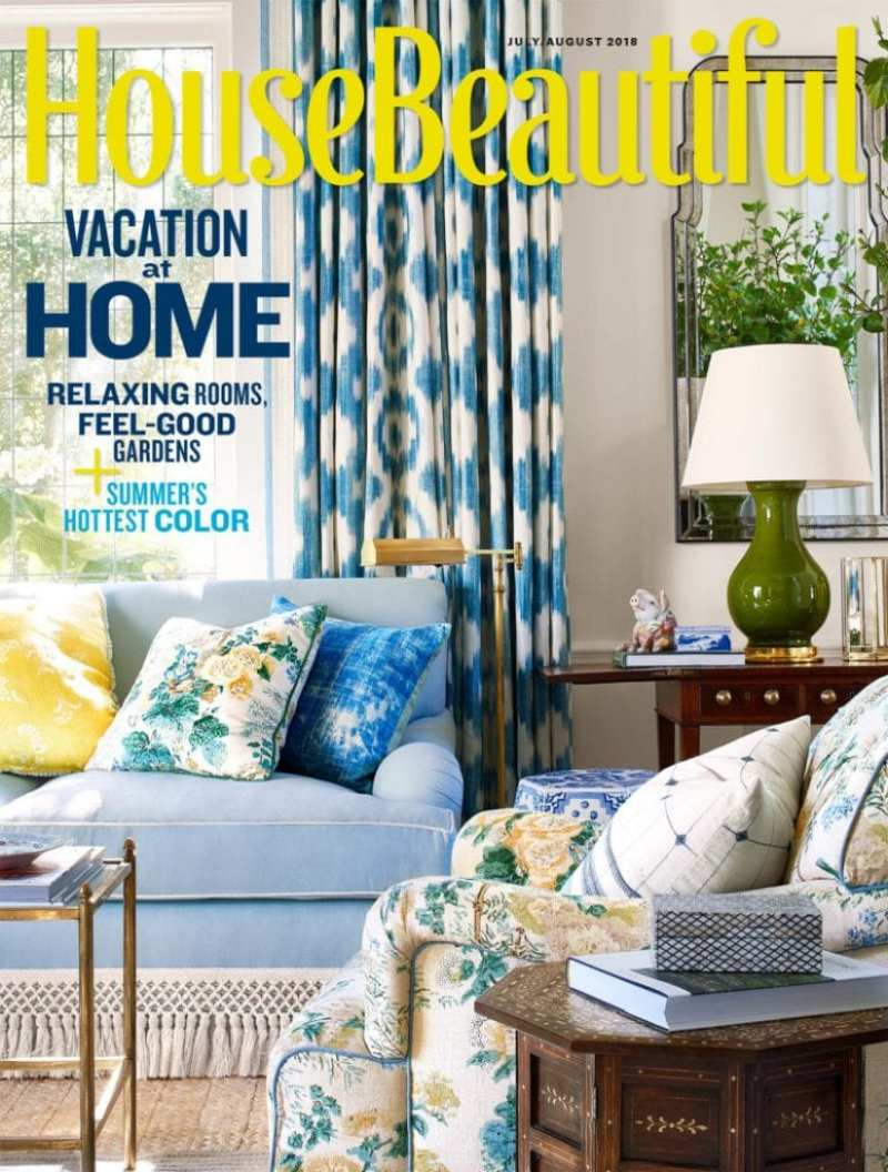 house-beautiful-july-august-2018-front-cover-mark-d-sikes-montecito
