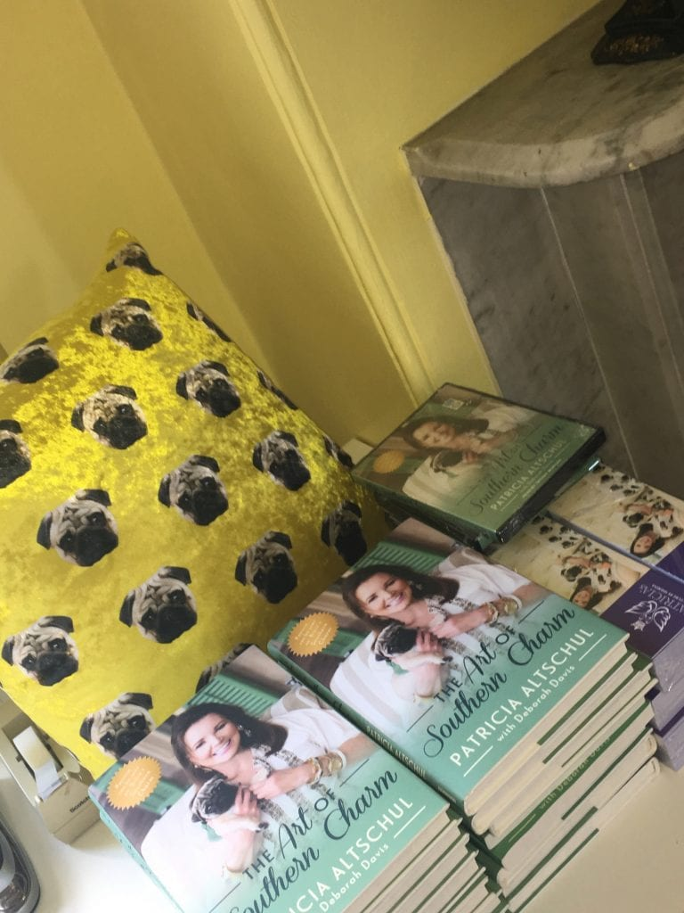 patricias-couture-chauncey-pug-patricia-altschul-luzanne-otte-isaac-jenkins-mikell-house-charleston-custom-the-art-of-southern-charm-pug-memoir