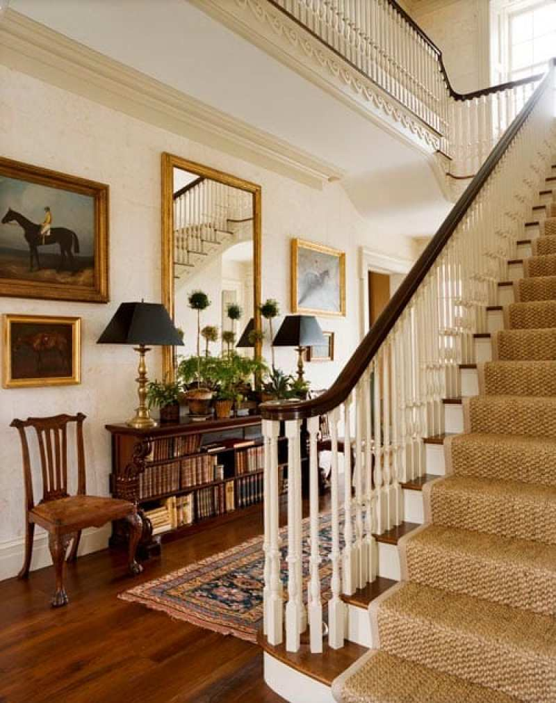 Foyer Art Et Vie : A picturesque new york farmhouse by gil schafer the glam pad