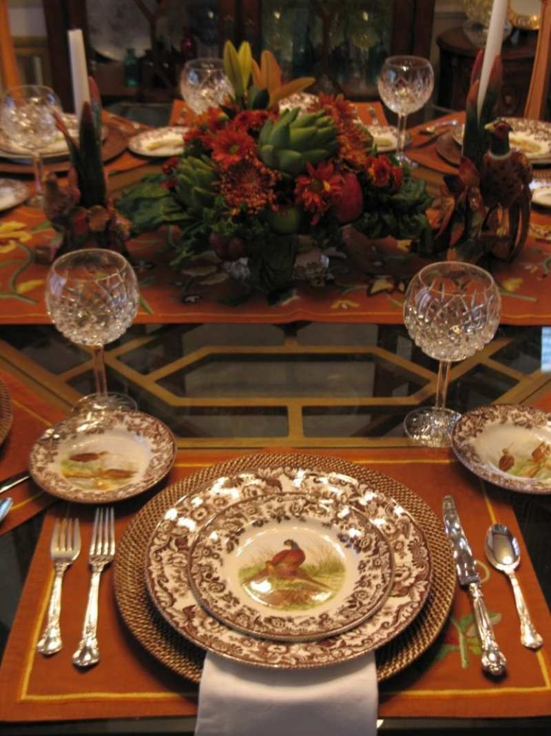 35 Traditional Thanksgiving Tablescapes The Glam Pad