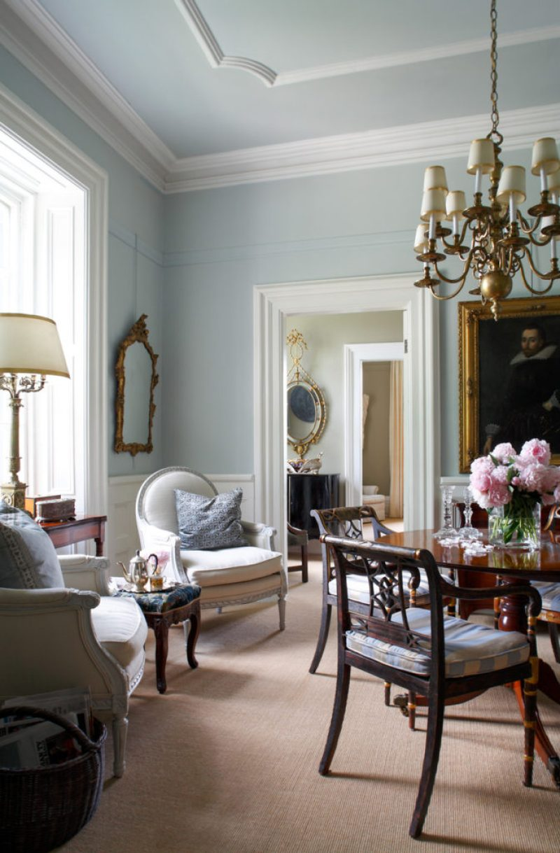An Elegant English Country Home The Glam Pad