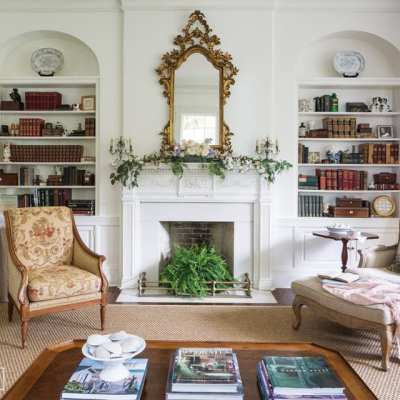 A Lovingly Restored Antebellum Home