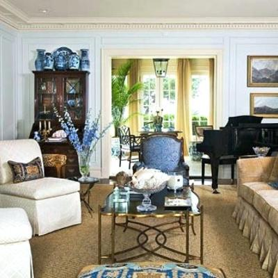 Blue and White in a 1920s Texas Home