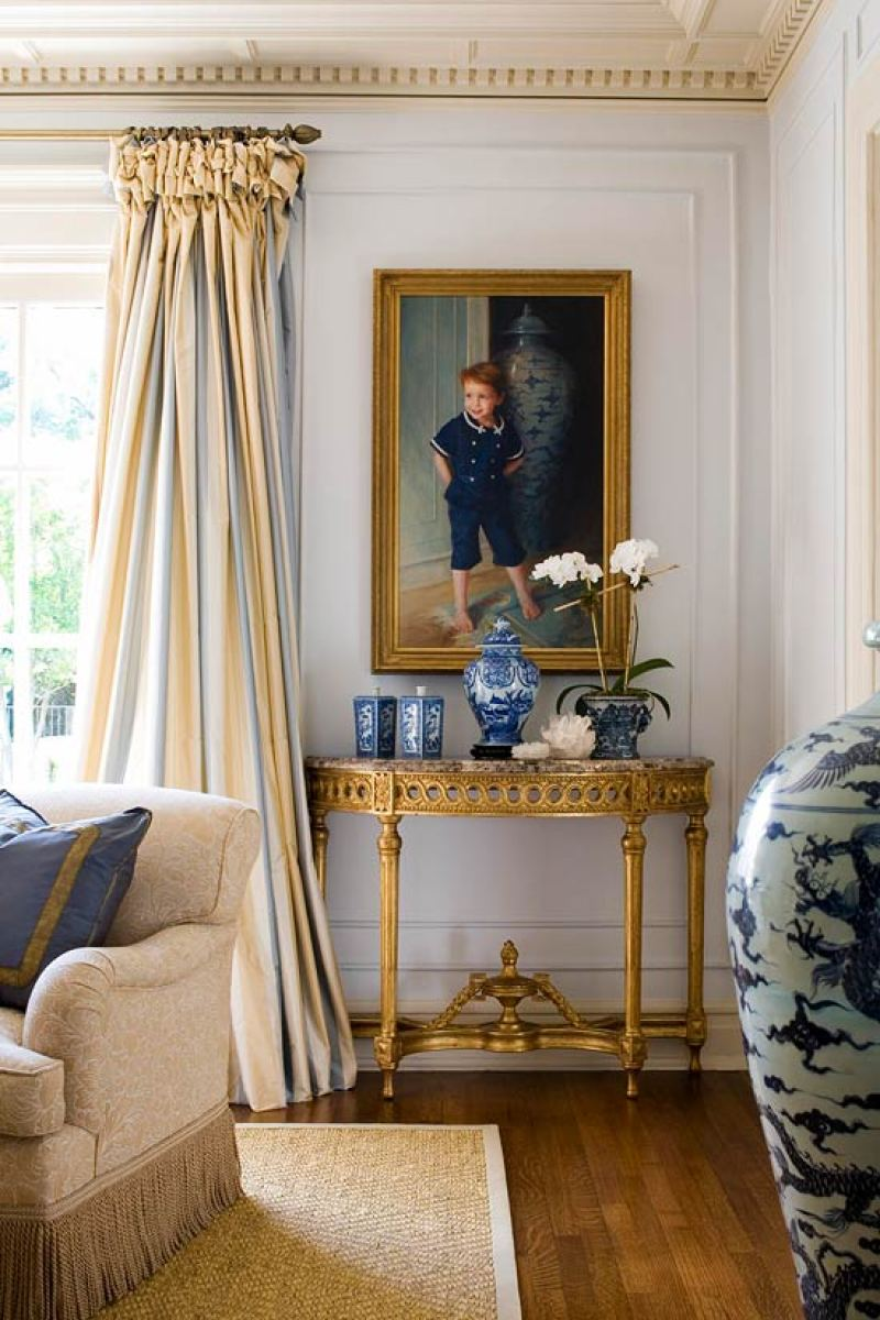 Blue And White In A 1920s Texas Home The Glam Pad