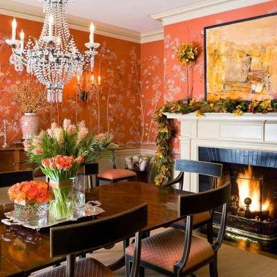 50 Fabulous Orange Rooms!