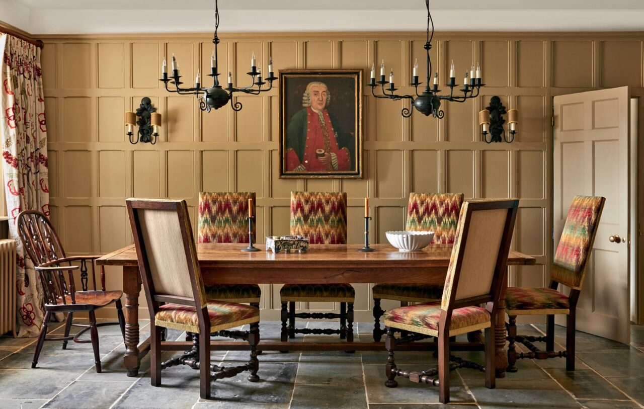 Max Rollitt English Country Home Interior Design Dining Room The Glam Pad