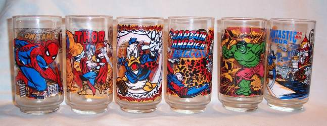 Marvel glasses