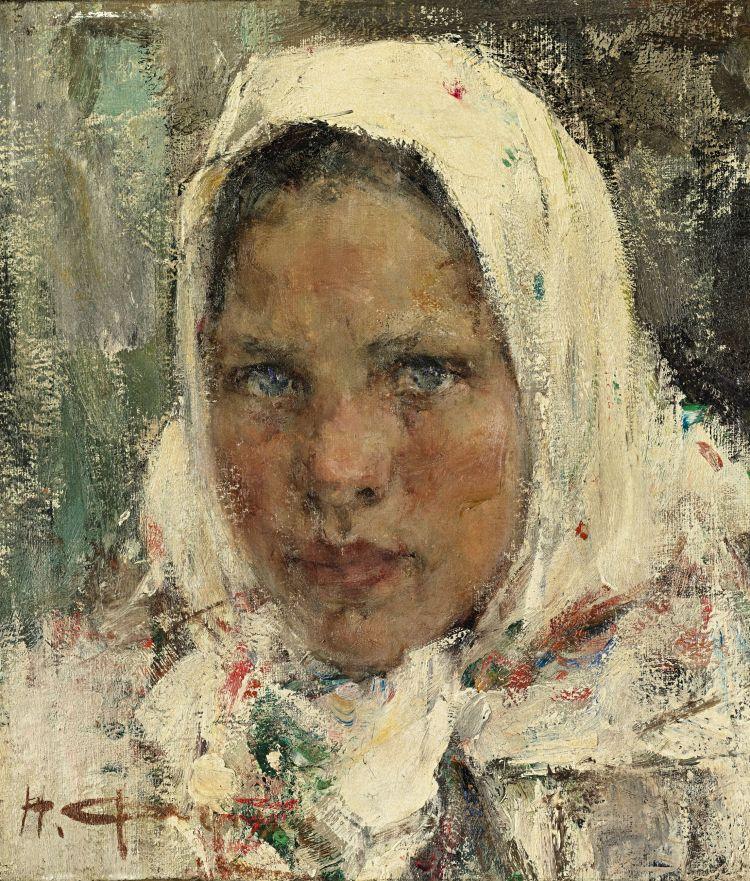 Peasant Girl, Fechin