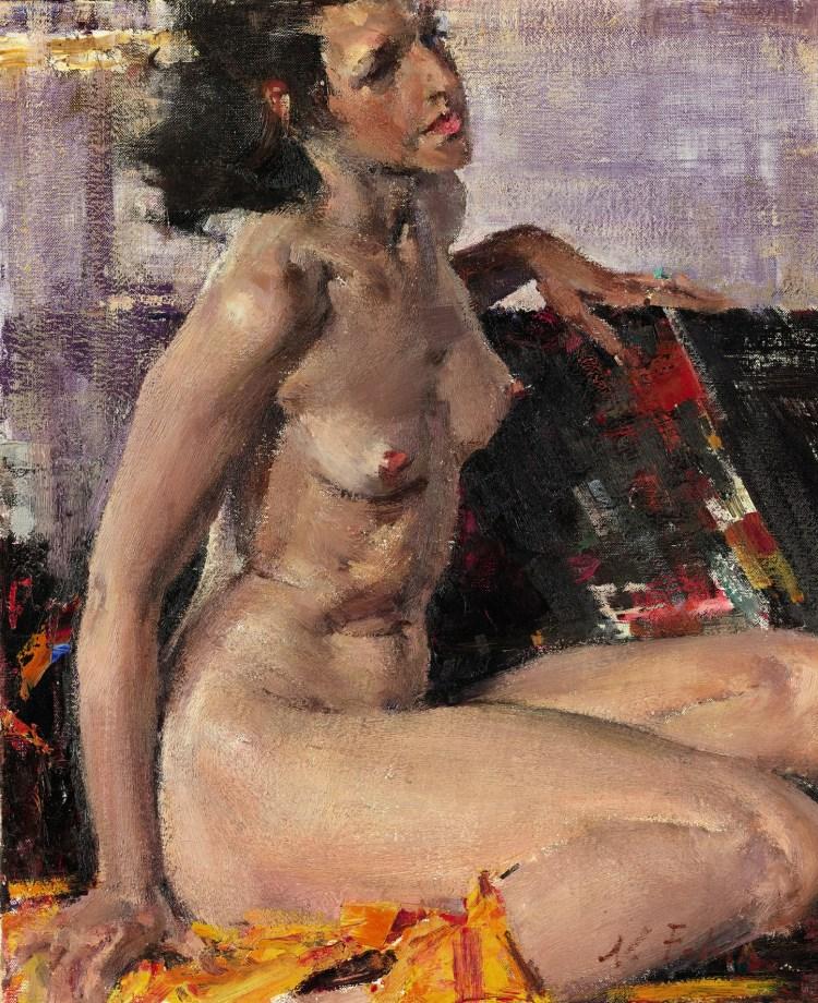 Nikolai Fechin, Nude