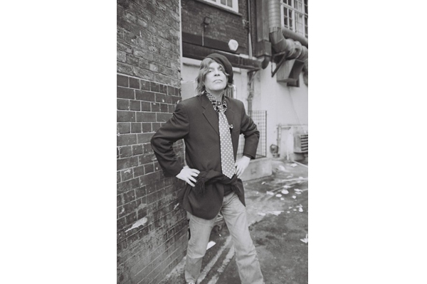 Jeremy Reed, Soho, London 2012 by Gregory Hesse