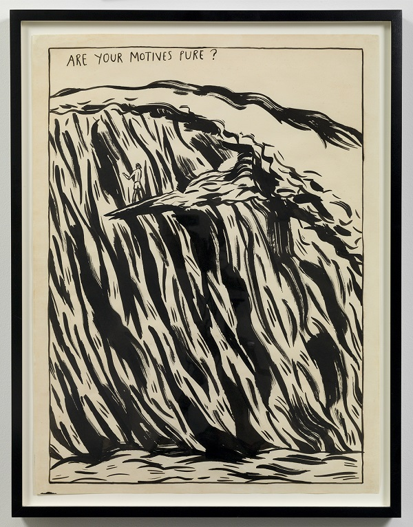 pettibon_untitled (are your motives pure)_1987 copy