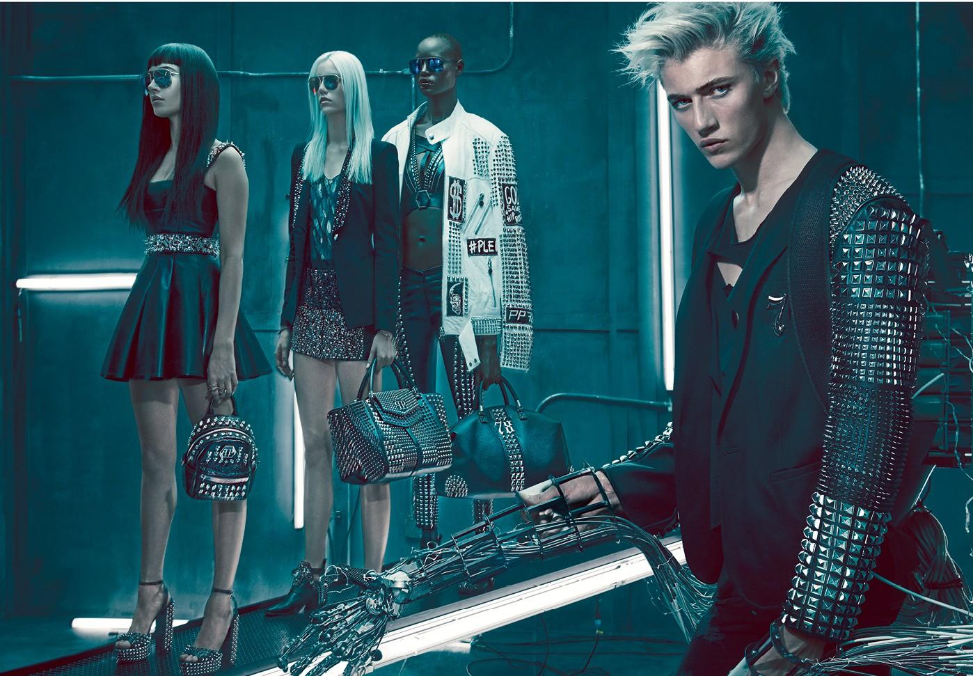 520705e8430 Philipp Plein releases SS16 ad campaign – The Glass Magazine