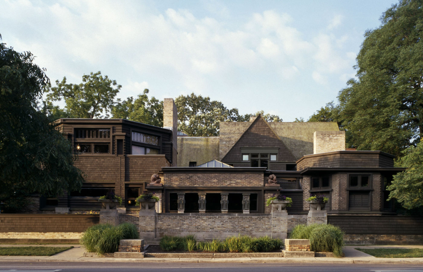 great plains glass visits the architect frank lloyd wright s home