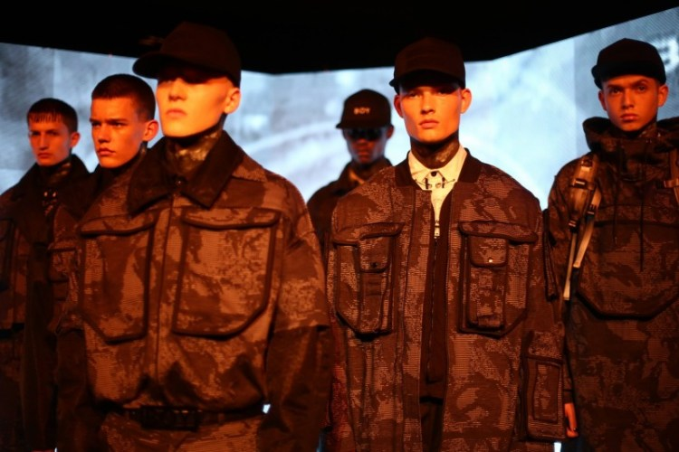 Military from the BOY by BOY LCM SS2017