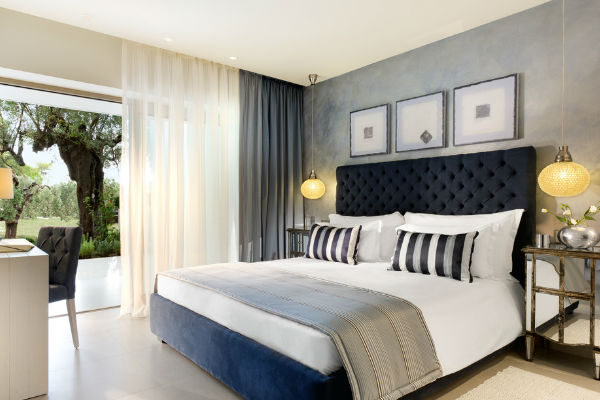 A one-bedroom bungalow suite at Ikos Olivia