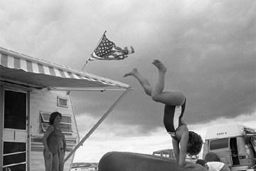 Flipping, Southampton, New York, 1980