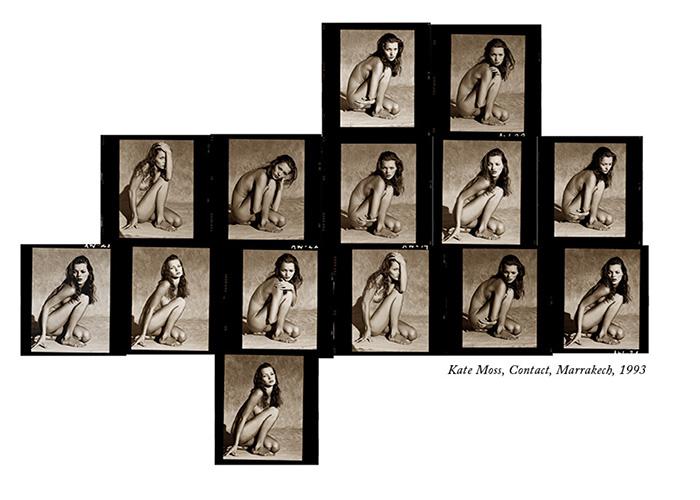 Kate Moss, contact, Marrakech, 1993