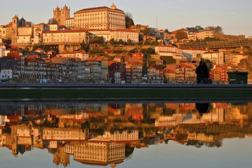Porto view from the sea