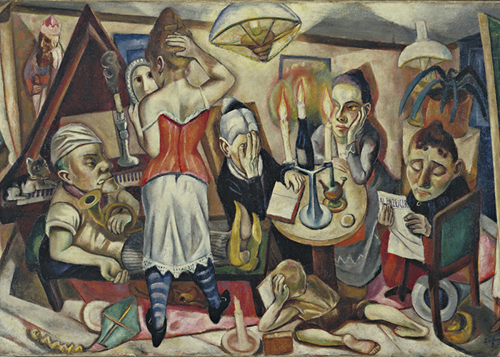 Max Beckmann in New York Beckmann Family Picture Museum of Modern Art New York