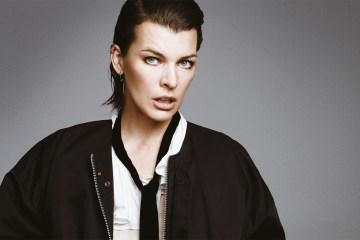 Front Cover. Milla Jovovich