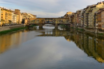 The Ponte Vecchio Bridge, Florence, Italy