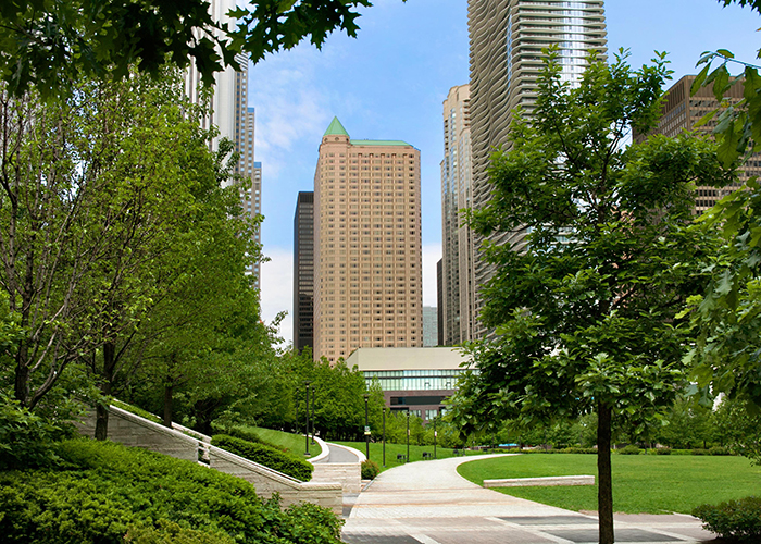 The Fairmont Chicago Millennium park