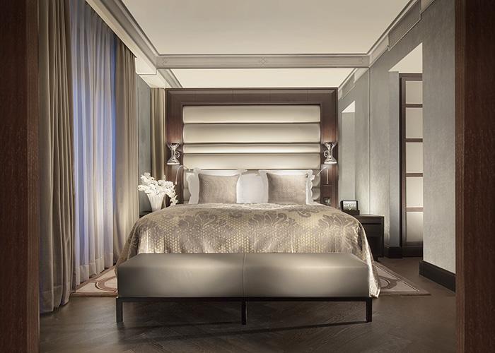 Bedroom at the Royal Savoy