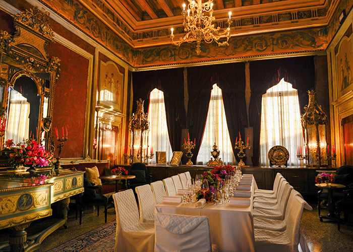 story pic Private dining area at Palazzo Venart_o