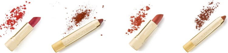 AXIOLOGY lipstick and lip crayon