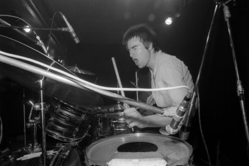 Roxy Club, London, December 1976. Photograph: Ray Stevenson