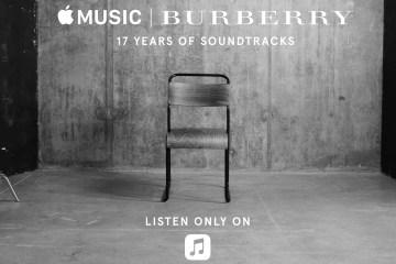 Burberry Apple Music Playlist