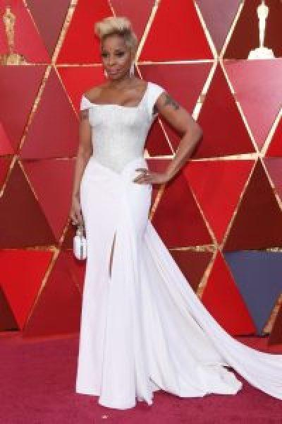Mary J Blige in Atelier Versace