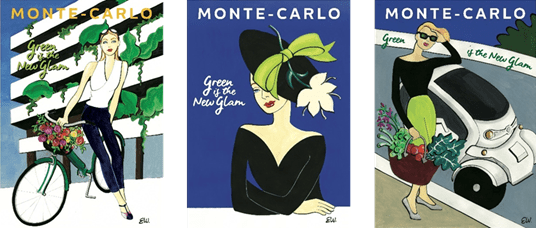 Green is the new glam - Monaco