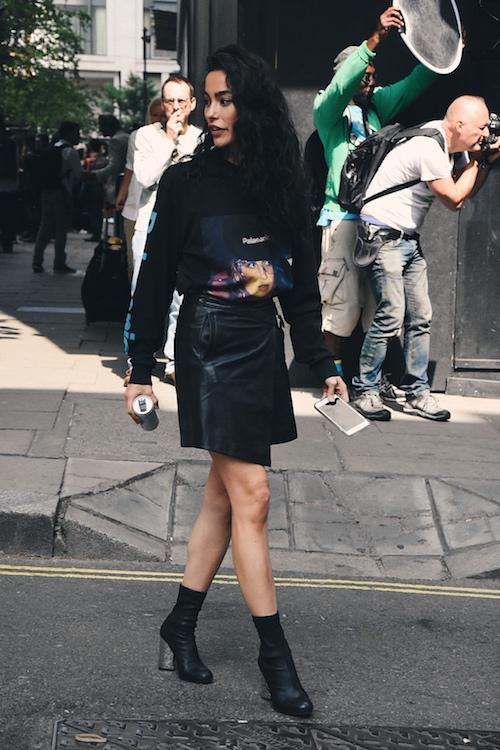 LFWM SS19 - Street Style - Adrianne Ho