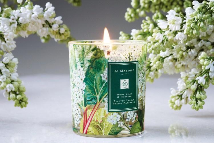 Jo Malone London White Lilac and Rhubarb Candle