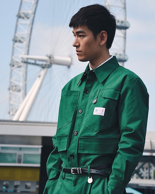 LFWM SS19 - Street Style - Xander Zhou