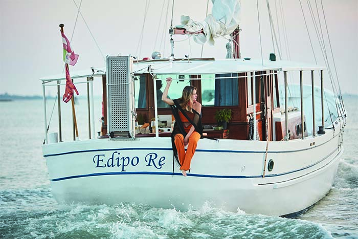 A Journey Through the Venitian Lagoons Aboard the Famed Edipo Re