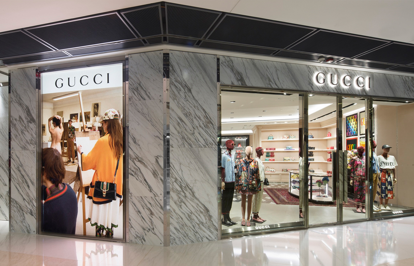 047e2be768 Gucci re-opens Hong Kong IFC Mall store – The Glass Magazine