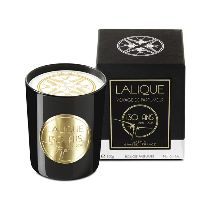 Lalique Anniversary Edition: Jasmine, Grasse - France, Scented Candle
