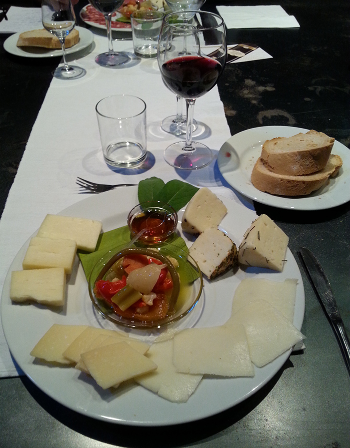 My course of cheese-Emilia Romagna