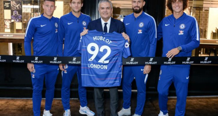 Hublot Feature Image New Bond Street Opening Chelsea FC