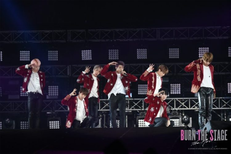 Tickets available for the BTS Burn the Stage: The Movie