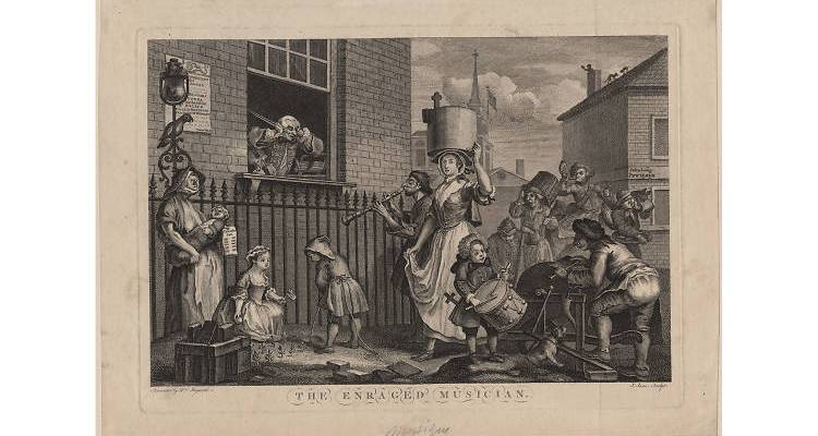 Foundling Museum Hogarth The Art of Noise