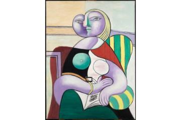 Reading Boisgeloup, January 2,1932 Oiloncanvas 130x97.5cm MuséenationalPicasso-Paris ©SuccessionPicasso2019