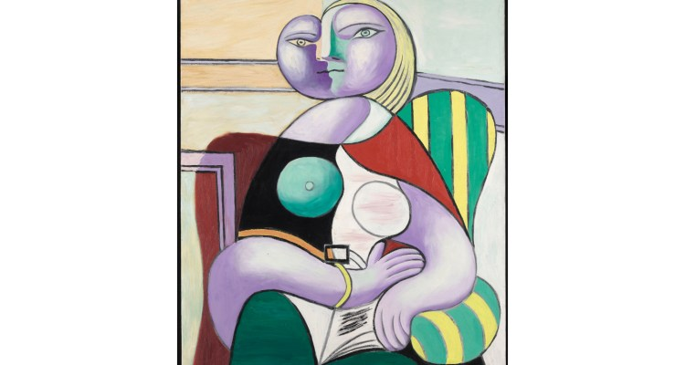 Reading Boisgeloup, January 2,1932 Oiloncanvas 130x97.5cm MuséenationalPicasso-Paris ©SuccessionPicasso2019
